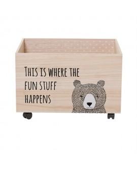 Caja juguetes bloomingville