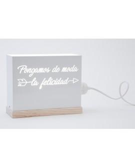 Lámpara Pongamos de moda