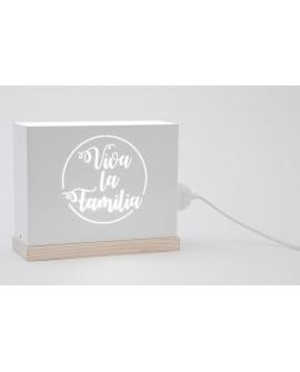 Lámpara Viva la Familia