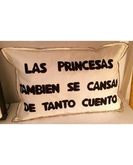 Las princesas tambien se cansan de tanto cuento